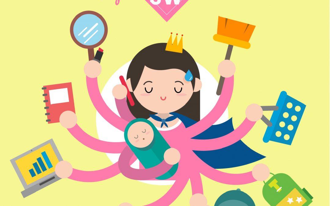 Detský psychológ radí: Maminy, pozor na syndróm vyhorenia! Nájdite si čas aj na seba.